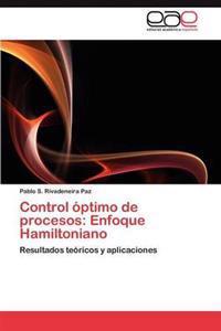 Control Optimo de Procesos