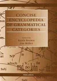 Concise Encyclopaedia of Grammatical Categories