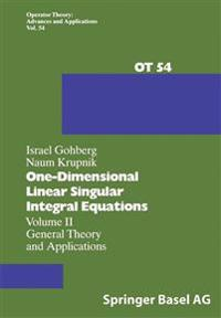 One-Dimensional Linear Singular Integral Equations