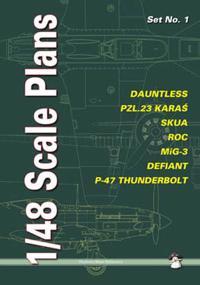 Dauntless, Pzl.23 Karas, Skua, Roc, MIG-3, Defiant, P-47 Thunderbolt