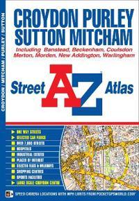 Croydon street atlas - including banstead, beckenham, coulsdon, merton, mor
