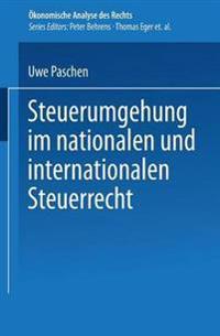 Steuerumgehung Im Nationalen Und Internationalen Steuerrecht