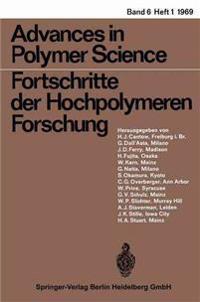 Advances in Polymer Science/Fortschritte der Hochpolymeren-Forschung