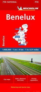 Michelin Benelux Map 714