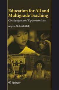 Education for All And Multigrade Teaching