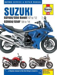 Suzuki gsf650/1250 bandit & gsx650/1250f service & repair manual - 2007-201
