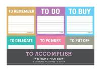 To Accomplish