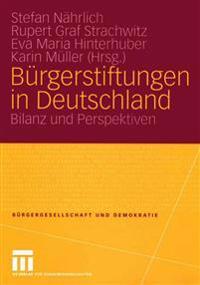 Bürgerstiftungen in Deutschland