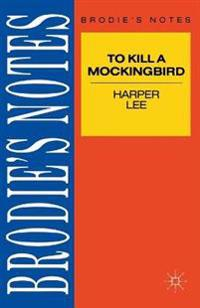 Lee: To Kill a Mockingbird