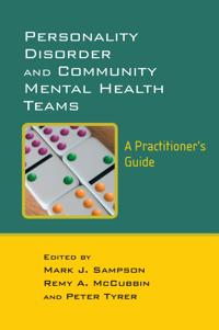 Personality Disorder And Community Mental Health Teams