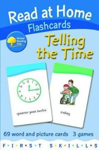 Read at Home: First Skills: Telling the Time Flashcards