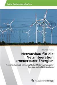 Netzausbau Fur Die Netzintegration Erneuerbarer Energien