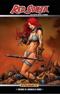 Red Sonja: She-Devil With a Sword Volume 4