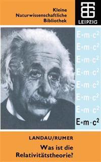 Was Ist Die Relativit tstheorie?