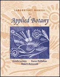 Laboratory Manual for Applied Botany