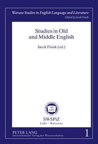 Studies in Old and Middle English