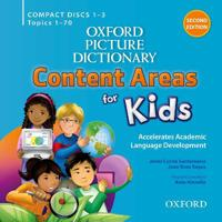 Oxford Picture Dictionary Content Area for Kids Classroom Audio Cds