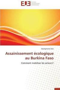 Assainissement Ecologique Au Burkina Faso