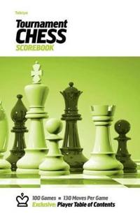 Tabiya Tournament Chess Scorebook