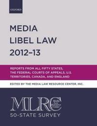 Media Libel Law 2012-13