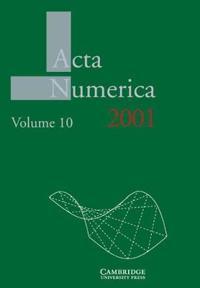 Acta Numerica Acta Numerica 2001: Series Number 10