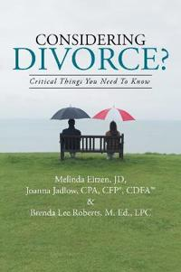 Considering Divorce?