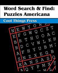 Word Search & Find: Puzzles Americana
