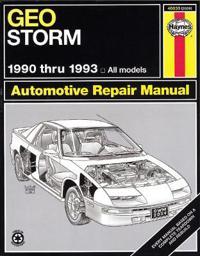 Geo Storm Automotive Repair Manual/1990 Thru 1993 All Models