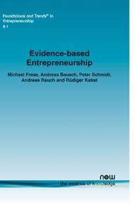 Evidence-Based Entrepreneurship
