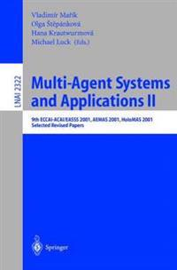 Multi-Agent-Systems and Applications II
