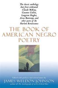 The Book of American Negro Poetry,