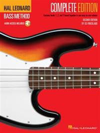 Hal Leonard Bass Method - Complete Edition: Books 1, 2 and 3 Bound Together in One Easy-To-Use Volume! [With Compact Disc]