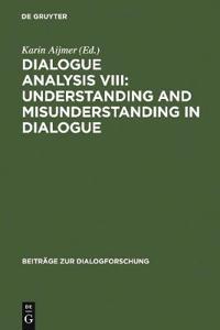 Dialogue Analysis VIII