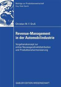 Revenue-Management in der automobilindustrie