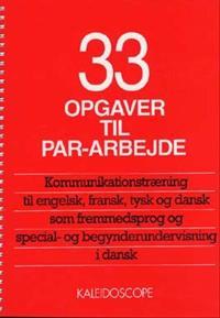 33 opgaver til par-arbejde