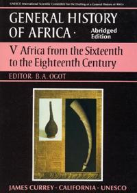 General History of Africa volume 5 [pbk abridged]