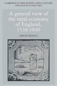 Cambridge Studies in Population, Economy and Society in Past Time