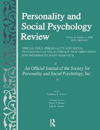Personality and Social Psychology Review