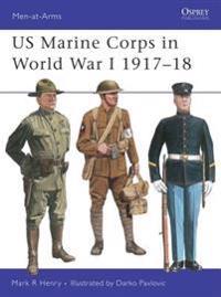 Us Marine Corps in World War I, 1917-1918