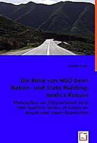 Die Rolle von NGO beim Nation- und State-Building: medica Kosova