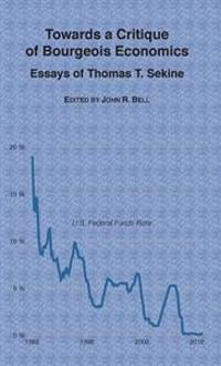 Towards a Critique of Bourgeois Economics