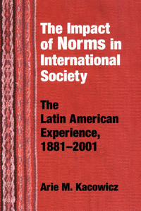 The Impact Of Norms In International Society