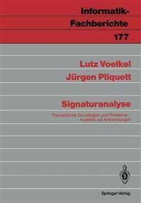 Signaturanalyse
