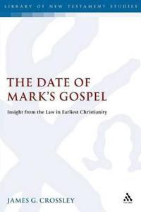 The Date of Mark's Gospel