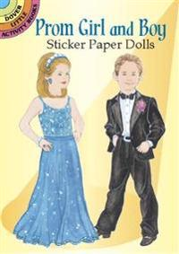 Prom Girl and Boy Sticker Paper Dolls