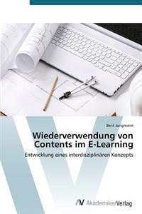Wiederverwendung Von Contents Im E-Learning