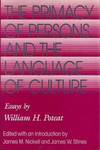 The Primacy of Persons and the Language of Culture