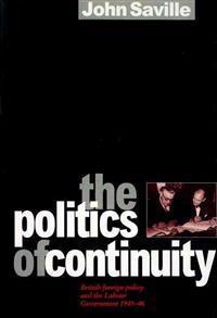 The Politics of Continuity