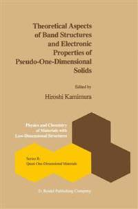 Theoretical Aspects of Band Structures and Electronic Properties of Pseudo-one-dimensional Solids