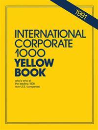 International Corporate 1000 Yellow Book 1991